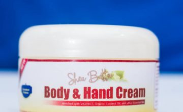 Hand and Body cream cover