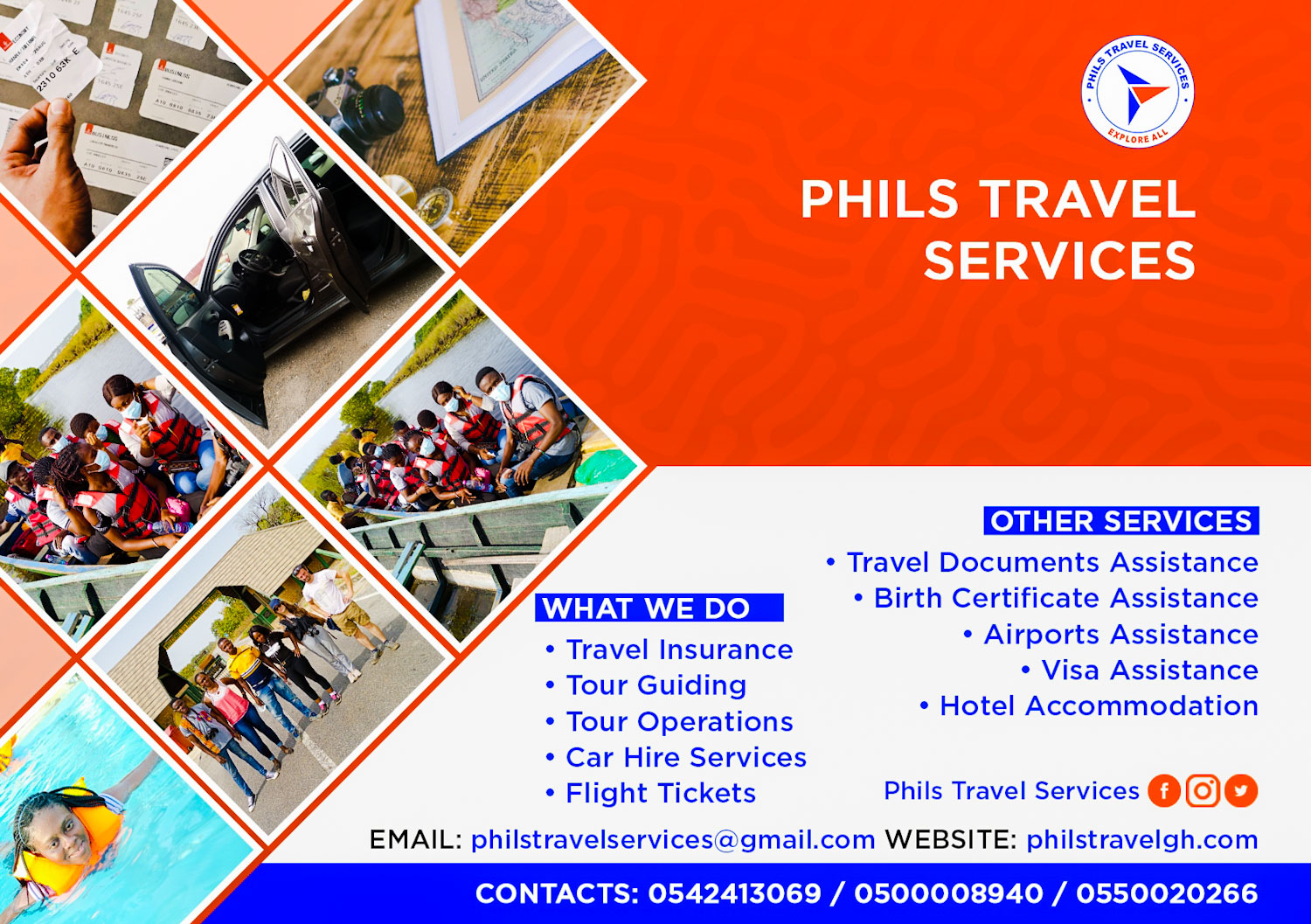 Travel by flight has been made Easier by Phils Travel